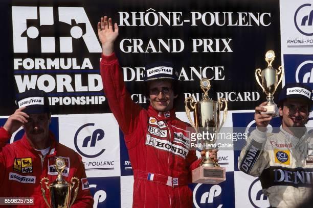 Alain Prost Grand Prix of France Circuit Paul Ricard July 9 1989