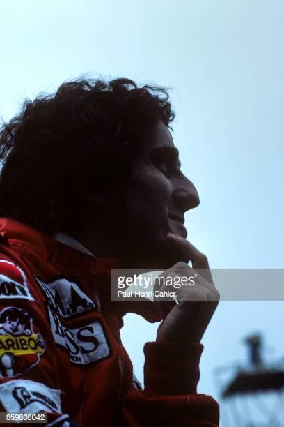 Alain Prost Grand Prix of San Marino Autodromo Enzo e Dino Ferrari May 6 1984