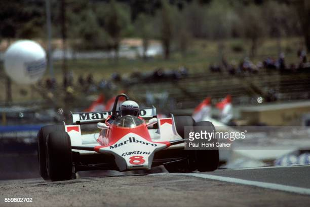 Alain Prost McLarenFord M29 Grand Prix of Belgium Zolder May 4 1980