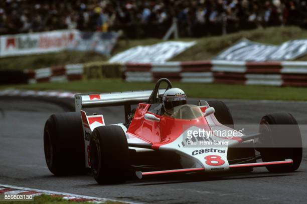Alain Prost McLarenFord M29 Grand Prix of Great Britain Brands Hatch July 13 1980