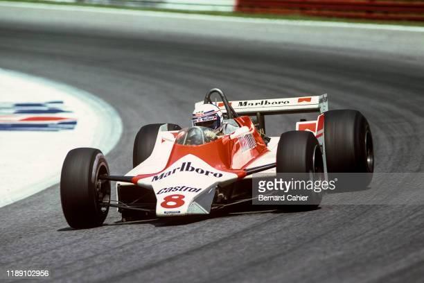 Alain Prost, McLaren-Ford M29C, Grand Prix of Austria, Osterreichring, 17 August 1980.