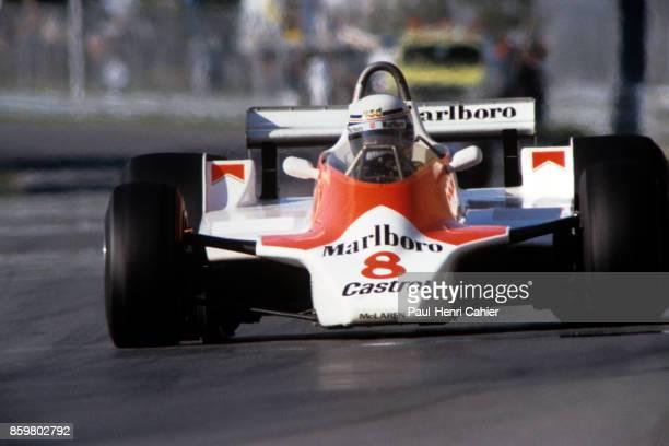 Alain Prost McLarenFord M30 Grand Prix of Canada Circuit Gilles Villeneuve September 28 1980