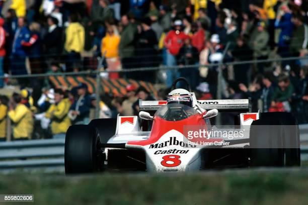 Alain Prost McLarenFord M30 Grand Prix of the Netherlands Circuit Park Zandvoort August 31 1980