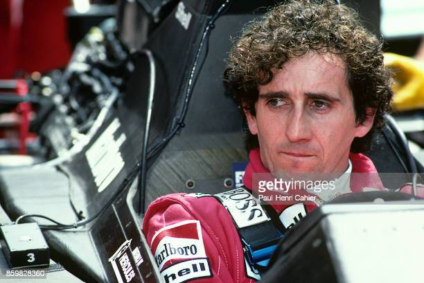 Alain Prost McLarenHonda MP4/5 Grand Prix of Monaco Circuit de Monaco May 7 1989