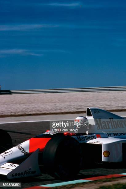 Alain Prost McLarenHonda MP4/5 Grand Prix of Portugal Autodromo do Estoril September 24 1989