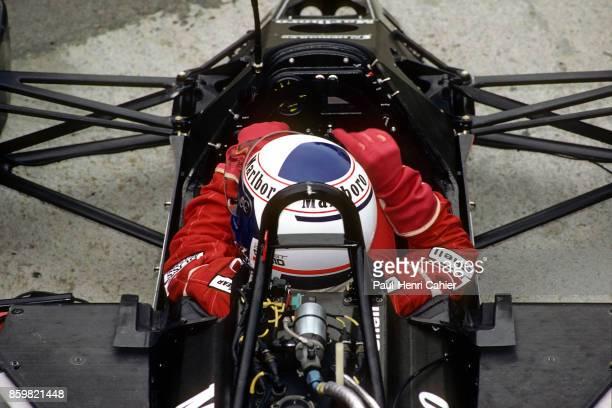 Alain Prost McLarenTAG MP4/3 Grand Prix of Hungary Hungaroring August 9 1987