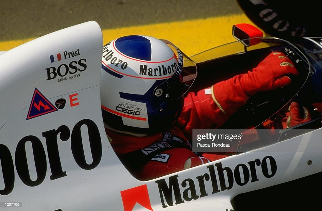 Alain Prost : News Photo