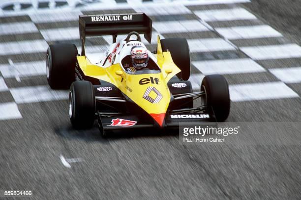 Alain Prost Renault RE40 Grand Prix of France Circuit Paul Ricard April 17 1983