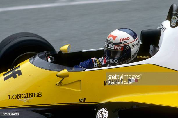 Alain Prost Renault RE40 Grand Prix of Monaco Circuit de Monaco May 15 1983