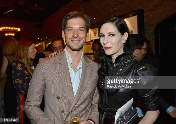 Alain Remise and Jill Kargman attend The Turtle Conservancy's 4th Annual Turtle Ball at The Bowery Hotel on April 17 2017 in New York City