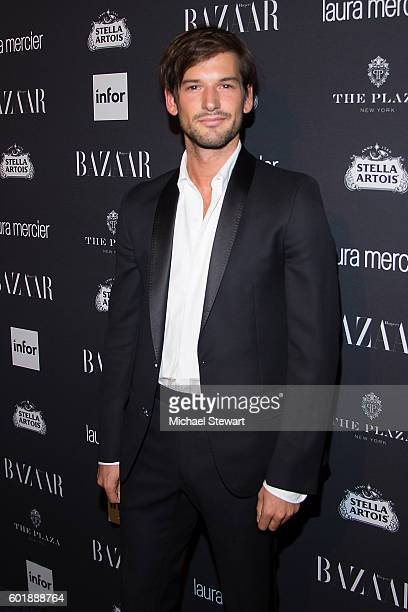Alain Remise attend Harper's BAZAAR Celebrates 'ICONS By Carine Roitfeld' at The Plaza Hotel on September 9 2016 in New York City