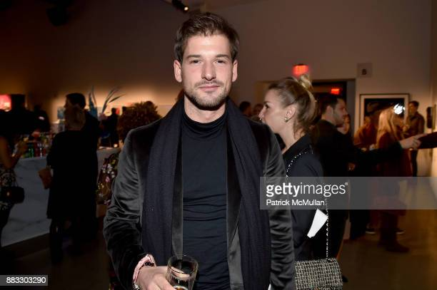 Alain Remise attends the 2017 ARTWALK NY Benefiting Coalition for the Homeless at Spring Studios on November 29 2017 in New York City