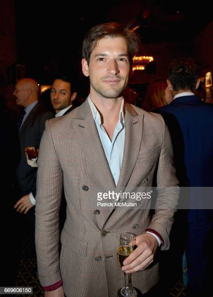 Alain Remise attends The Turtle Conservancy's 4th Annual Turtle Ball at The Bowery Hotel on April 17 2017 in New York City
