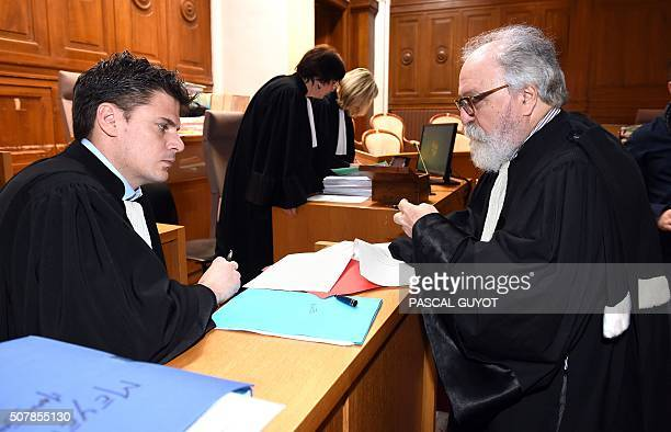 Alain Riou lawyer of Anthony Draoui sentenced to thirty years of imprisonment on October 3 2014 for the murder of the 17yearold MarieJeanne Meyer on...