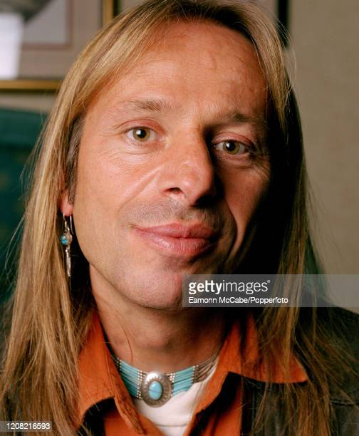 """Alain Robert, French urban climber and rock climber, circa May 2003. Robert is known as """"the French Spider-Man"""" and is famous for free solo climbing,..."""
