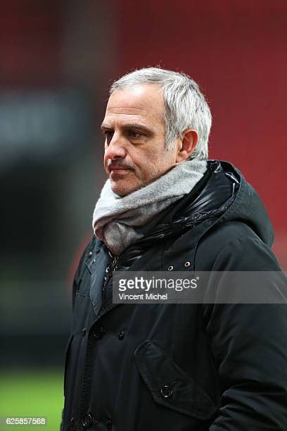 Alain Roche during the French Ligue 1 match between Rennes and Toulouse at Roazhon Park on November 25, 2016 in Rennes, France.