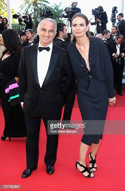 Alain Terzian attends the The Artist Premiere at the Palais des Festivals during the 64th Cannes Film Festival on May 15 2011 in Cannes France
