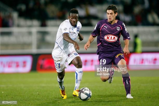 Alain TRAORE Auxerre / Bordeaux 9eme journee de Ligue 1