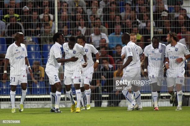 Alain TRAORE / Joie Auxerre Arles Avignon / Auxerre 8e journee Ligue 1