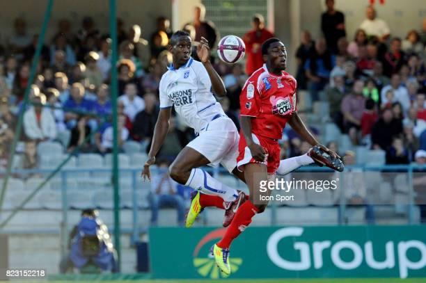 Alain TRAORE / RIchard SOCRIER Auxerre / Ajaccio 4eme journee de Ligue 1