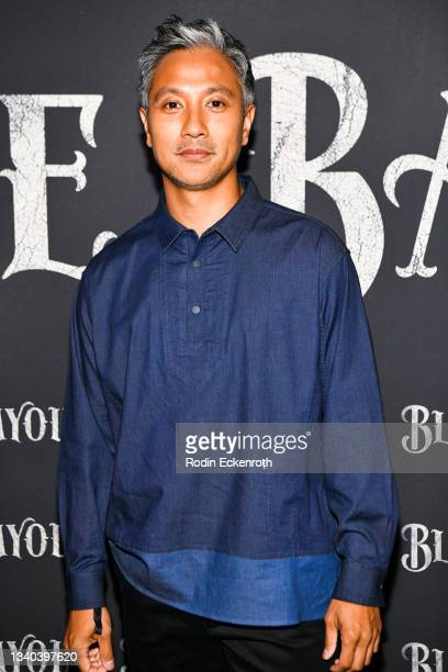 """Alain Uy attends the Los Angeles Premiere of Focus Features' """"Blue Bayou"""" at DGA Theater Complex on September 14, 2021 in Los Angeles, California."""