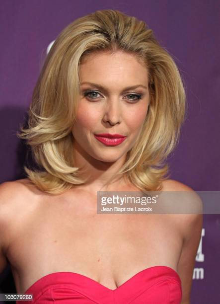 Alaina Huffman attends the EW and SyFy party during Comic-Con 2010 at Hotel Solamar on July 24, 2010 in San Diego, California.