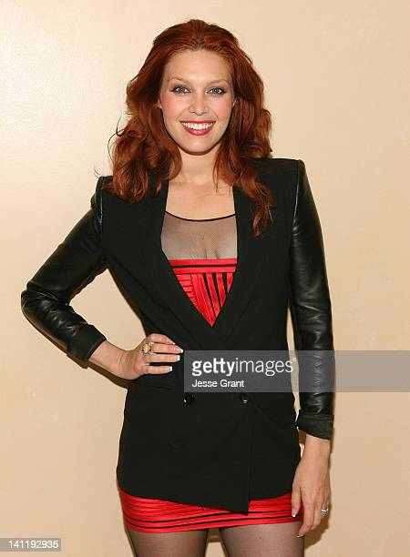 Alaina Huffman attends the VIP Opening Reception For Style Fashion Week LA and Major Donor Appreciation Night For Hollywood Arts at a private...