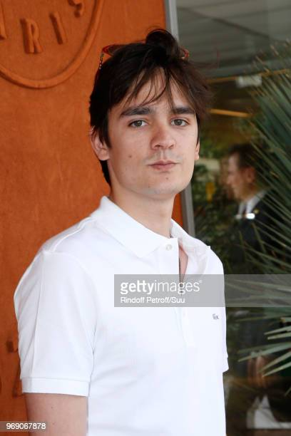 AlainFabien Delon attends the 2018 French Open Day Twelve at Roland Garros on June 7 2018 in Paris France