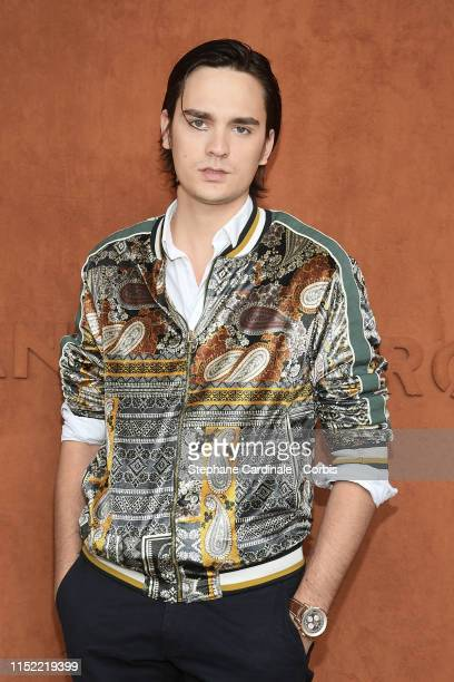AlainFabien Delon attends the 2019 French Tennis Open Day Three at Roland Garros on May 28 2019 in Paris France