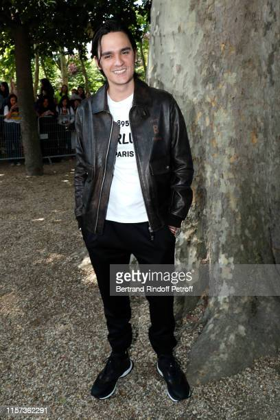 AlainFabien Delon attends the Berluti Menswear Spring Summer 2020 show as part of Paris Fashion Week on June 21 2019 in Paris France
