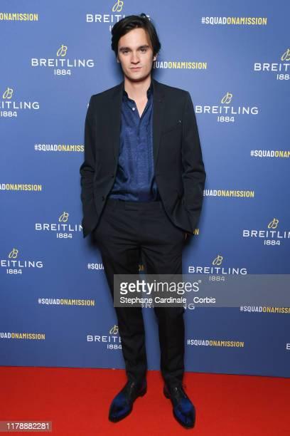 AlainFabien Delon attends the Breitling 1884 flagship reopening party at 10 rue de la Paix on October 03 2019 in Paris France