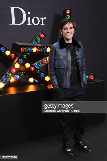 AlainFabien Delon attends the Dior Homme Menswear Fall/Winter 20182019 show as part of Paris Fashion Wee January 20 2018 in Paris France