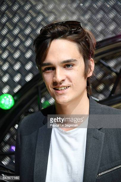 AlainFabien Delon attends the Dior Homme Menswear Spring/Summer 2017 show as part of Paris Fashion Week on June 25 2016 in Paris France