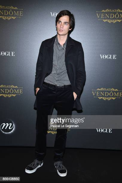 AlainFabien Delon attends the Irving Penn Exhibition Private Viewing Hosted by Vogue as part of the Paris Fashion Week Womenswear Spring/Summer 2018...