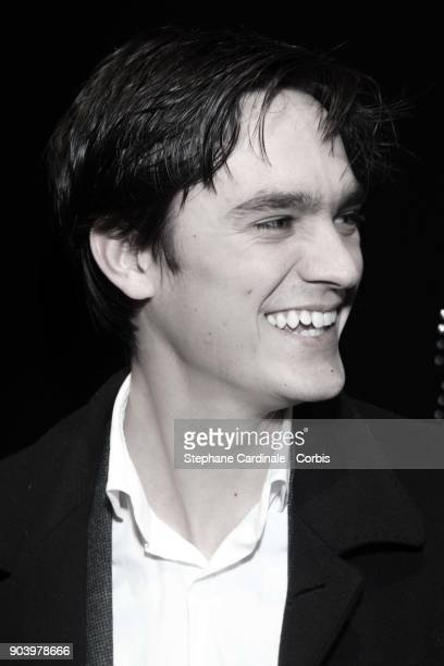 AlainFabien Delon attends the Vendorama Exhibition Boucheron Celebrates Its 160 Anniversary at Monnaie de Paris on January 11 2018 in Paris France