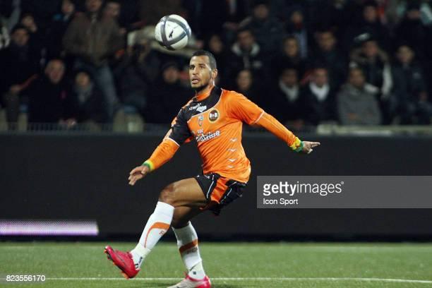 Alaixys ROMAO Lorient / Montpellier 19eme journee de Ligue 1