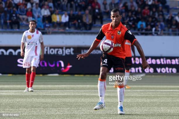 Alaixys ROMAO Lorient / Nancy 4eme journee de Ligue 1