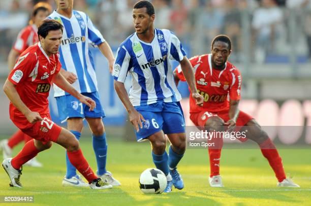 Alaixys ROMAO Grenoble / Monaco 4eme journee de ligue 1