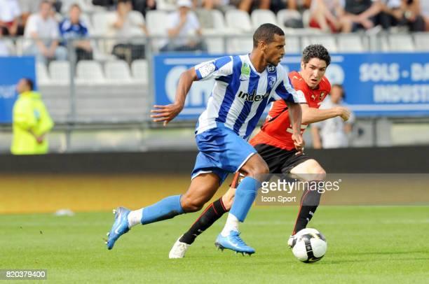 Alaixys ROMAO / Fabien LEMOINE Grenoble / Rennes 2eme journee de Ligue 1