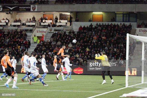 Alaixys ROMAO / Geoffrey JOURDREN Lorient / Montpellier 19eme journee de Ligue 1
