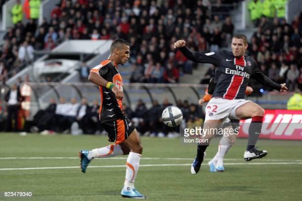Alaixys ROMAO / Sylvain ARMAND Lorient / Paris Saint Germain 13e journee Ligue 1