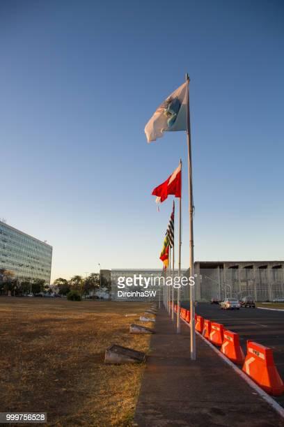 Alameda dos Estados, Brasilia, Federal District, Brazil.