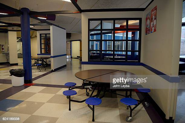 Alameda high school with principal Susie Van Scoyk sits in the outdated lunchroom November 17 2016 The states second largest district wanted a $535m...