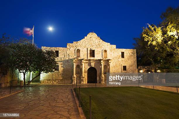 Alamo Mission, San Antonio, a Famous Historic Building in Texas