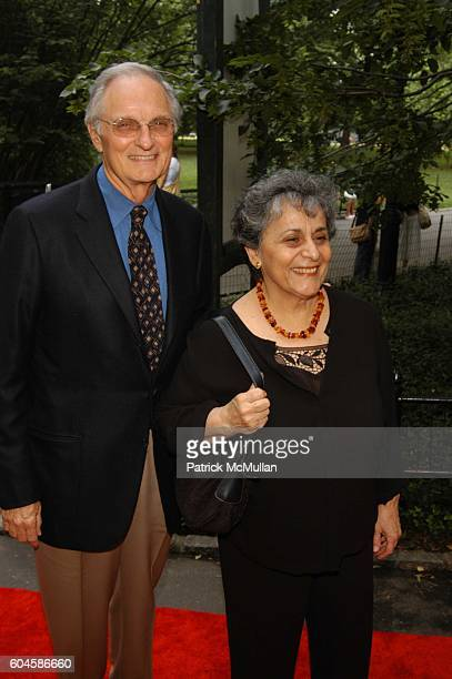 Alan Alda and Arlene Alda attend The Public Theater's Summer Gala honoring Meryl Streep and Kevin Kline and opening night performance of Macbeth for...