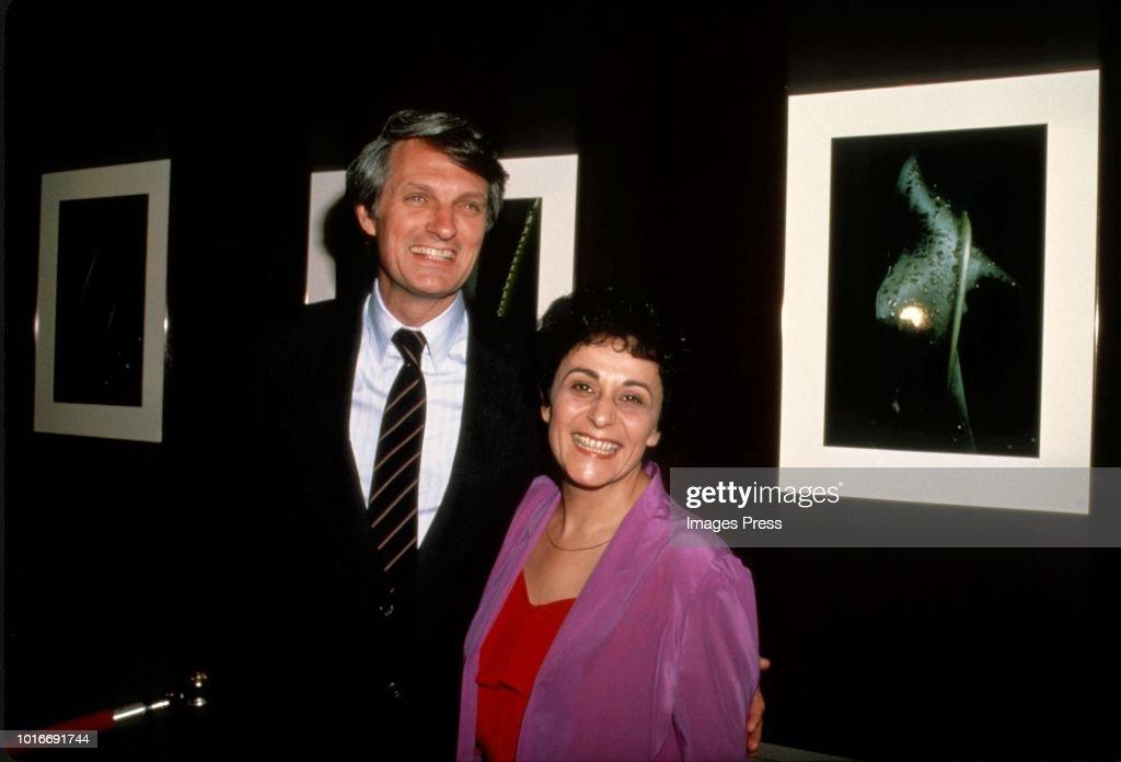 Alan Alda and Arlene Alda... : News Photo