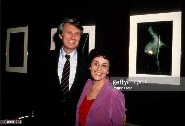 Alan Alda and Arlene Alda circa 1981 in New York