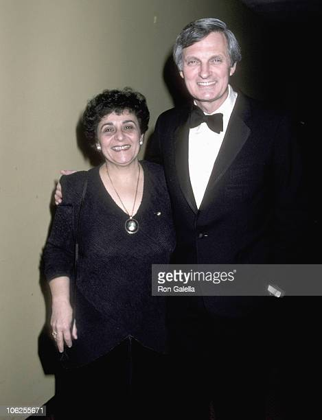 Alan Alda and Arlene Alda during Easthampton's 56th Annual Guild Hall Awards at United Nations in New York City New York United States