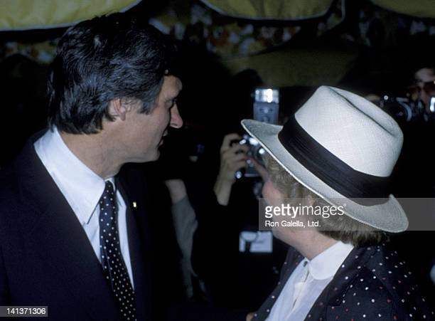 Alan Alda and Bella Abzug attend 19th Birthday Party for Elizabeth Alda on August 15 1979 at the Promenade Cafe in New York City