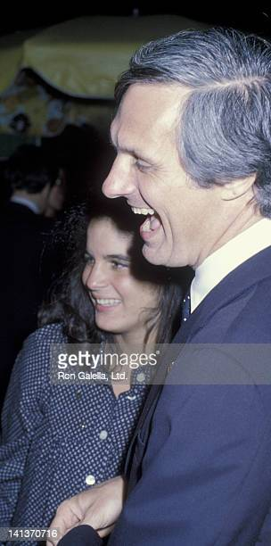 Alan Alda and Elizabeth Alda attend 19th Birthday Party for Elizabeth Alda on August 15 1979 at the Promenade Cafe in New York City
